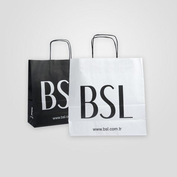 Twist Handle Paper Bag 1