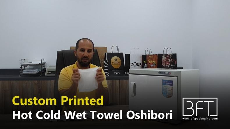 Oshıborı Towels, Hot Towels, Oshıborı Rolled, Refreshment Towels