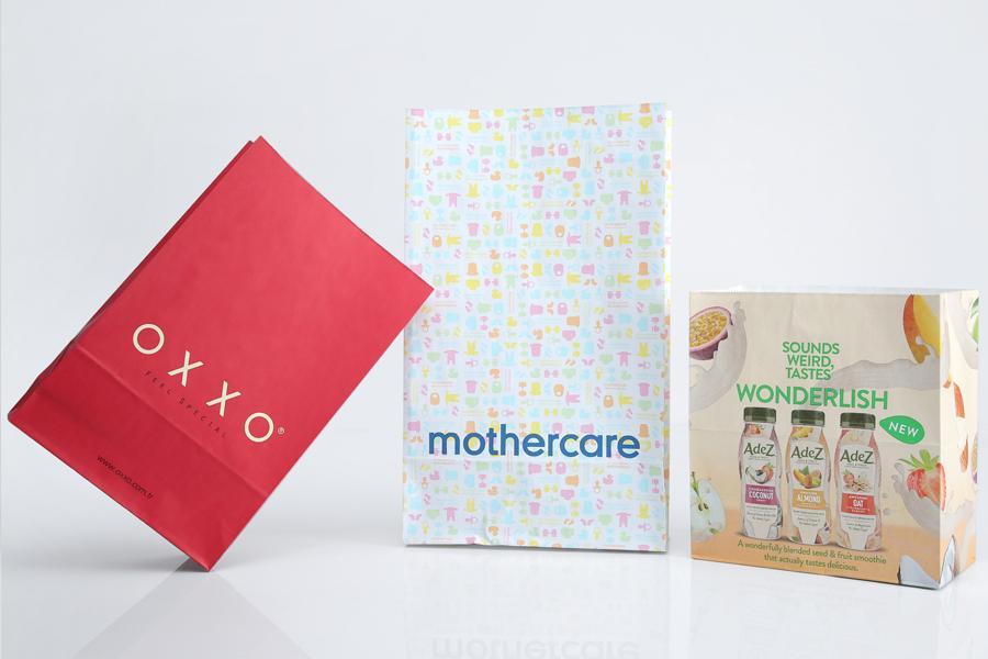 Natural Kraft / White Kraft SOS Bags