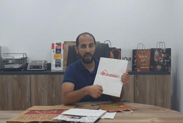 Twist Handle Paper Bag - Bft Packaging