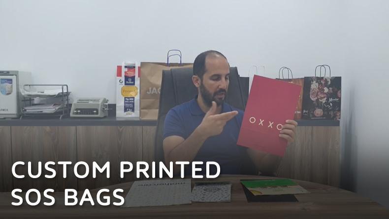 Custom Printed Sos Bags