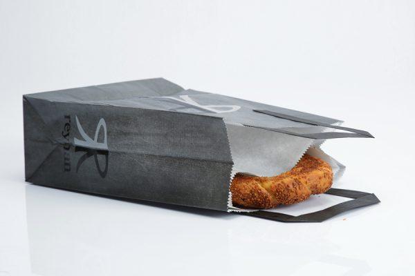 Flat Handle Paper Bag