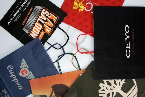Twist Handle Paper Bag